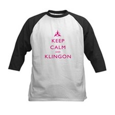 Keep Calm and Klingon Pink Tee
