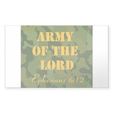 Army of the Lord (Ephesians 6 Decal