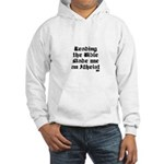 Reading the Bible made me an Hooded Sweatshirt