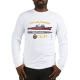 USS Lake Champlain (CG-57) Long Sleeve T-Shirt