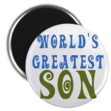 World's Greatest Son Magnet