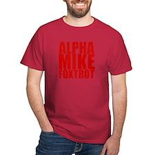 Alpha Mike Foxtrot T-Shirt
