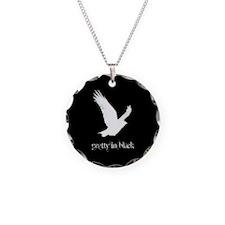 Raven Necklace in Black