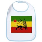 Rasta Gear Shop Rasta Baby Flag Bib
