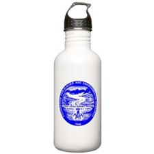 BLue JIRP Stainless Water Bottle 1 L