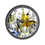 Winter Warrior Wall Clock