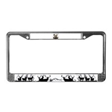 Bow hunter 4 License Plate Frame
