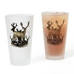 Bow hunter 4 Drinking Glass