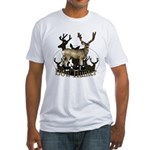 Bow hunter 4 Fitted T-Shirt