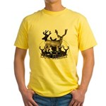 Bow hunter 4 Yellow T-Shirt