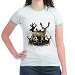 Bow hunter 4 Jr. Ringer T-Shirt