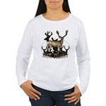Bow hunter 4 Women's Long Sleeve T-Shirt
