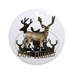 Bow hunter 4 Ornament (Round)