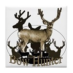 Bow hunter 4 Tile Coaster
