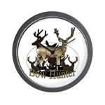 Bow hunter 4 Wall Clock