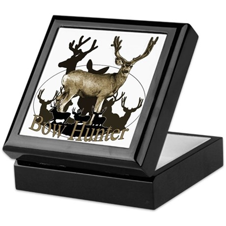 Bow hunter 4 Keepsake Box