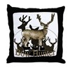 Bow hunter 4 Throw Pillow