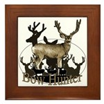 Bow hunter 4 Framed Tile