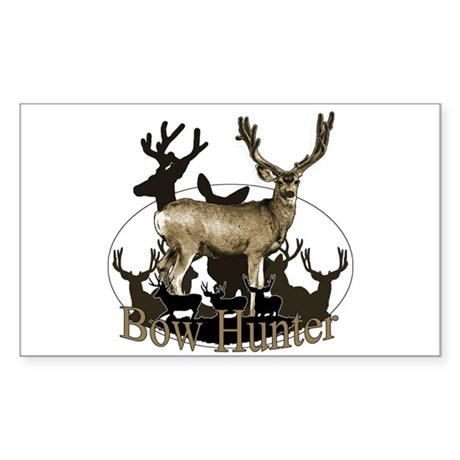 Bow hunter 4 Sticker (Rectangle)