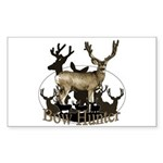 Bow hunter 4 Sticker (Rectangle 50 pk)