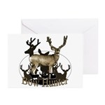 Bow hunter 4 Greeting Cards (Pk of 10)