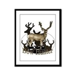 Bow hunter 4 Framed Panel Print