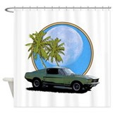 67 Mustang Shower Curtain