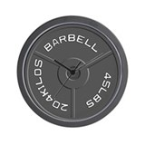 Barbell Wall Clock