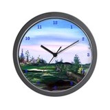 Native American Tranquility Wall Clock