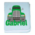 Trucker Gabriel baby blanket