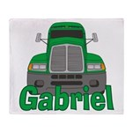 Trucker Gabriel Throw Blanket