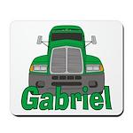 Trucker Gabriel Mousepad