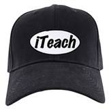 I Teach Baseball Hat