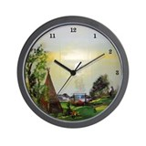 Native American Walk Wall Clock