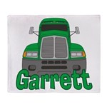 Trucker Garrett Throw Blanket
