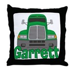 Trucker Garrett Throw Pillow