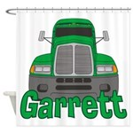 Trucker Garrett Shower Curtain