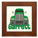 Trucker Garrett Framed Tile