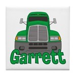 Trucker Garrett Tile Coaster