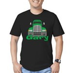 Trucker Gary Men's Fitted T-Shirt (dark)
