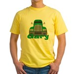 Trucker Gary Yellow T-Shirt