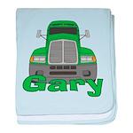 Trucker Gary baby blanket