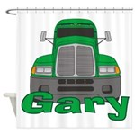 Trucker Gary Shower Curtain