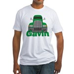 Trucker Gavin Fitted T-Shirt