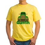 Trucker Gavin Yellow T-Shirt