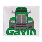 Trucker Gavin Throw Blanket