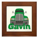 Trucker Gavin Framed Tile