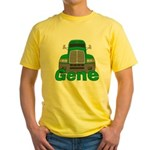 Trucker Gene Yellow T-Shirt