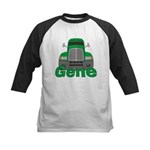 Trucker Gene Kids Baseball Jersey
