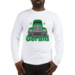 Trucker Gerald Long Sleeve T-Shirt